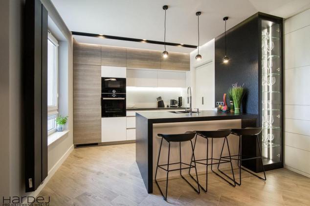 projekt wnętrza kuchni-witryna styl nowoczesny 1