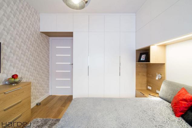 projekt wnętrz sypialnia jasne kolory