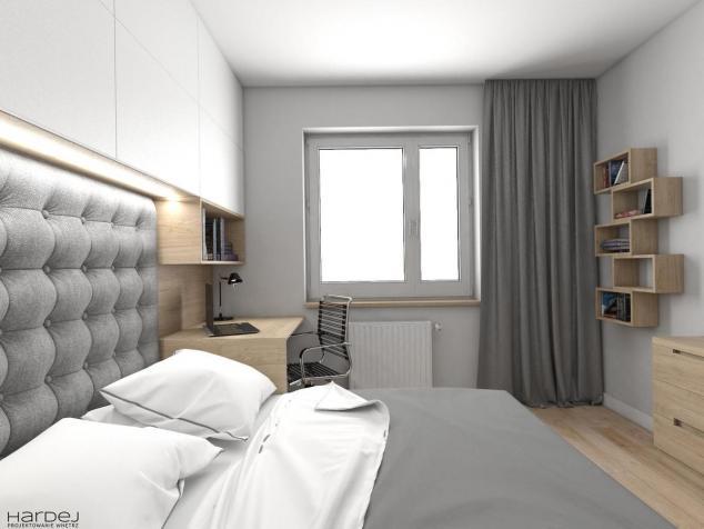 aranżacja sypialnia pikowane bezgłowie