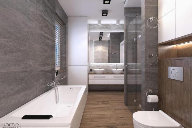 aranżacja łazienka styl industrialny