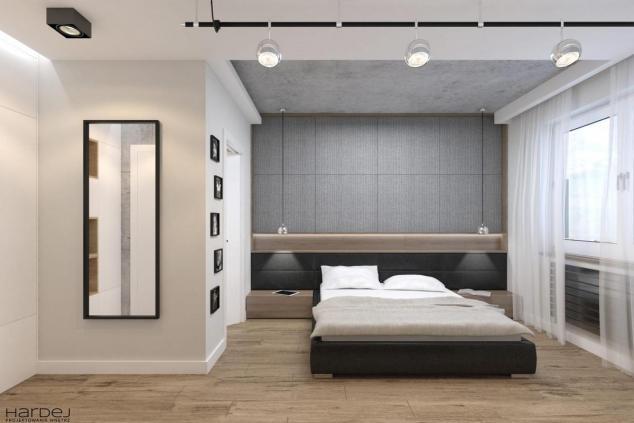 aranżacja sypialnia w stylu industrialnym 2