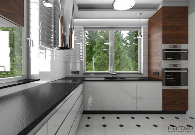 wnętrze kuchnie styl nowoczesny loft