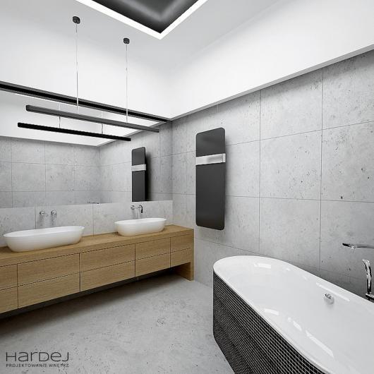 aranżacja łazienka styl modernistyczny nowoczesny