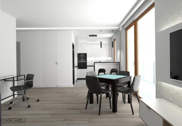 projekt wnętrz łazienka drewniana podłoga