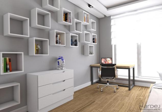aranżacja pokój dla chłopaka styl nowoczesny