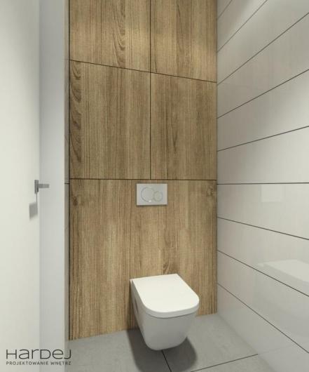 projekt łazienka biała