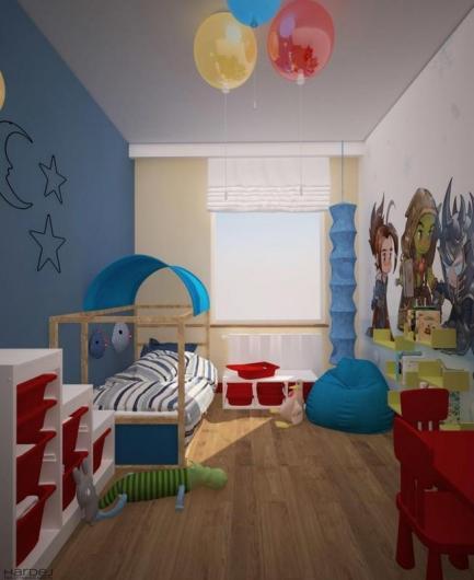 projekt pokój małego dziecka
