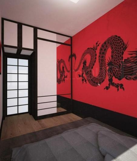 projekt wnętrza styl japoński 10