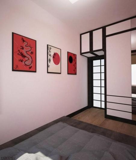 projekt wnętrza styl japoński 12