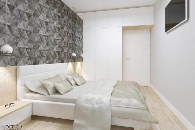 aranżacja sypialnia w stylu skandynawskim