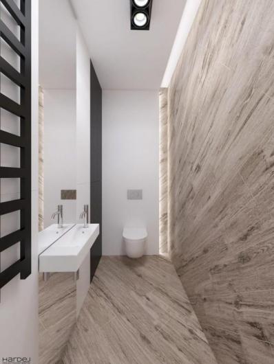 projekt wnętrza łazienka nowoczesna
