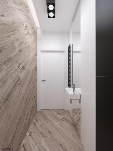 projekt wnętrza łazienka nowoczesna 2