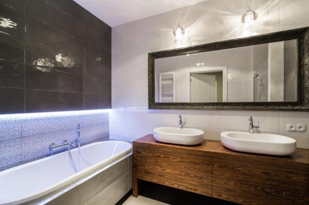 łazienka styl art deco