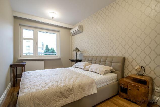 projekt styl art deco sypialnia