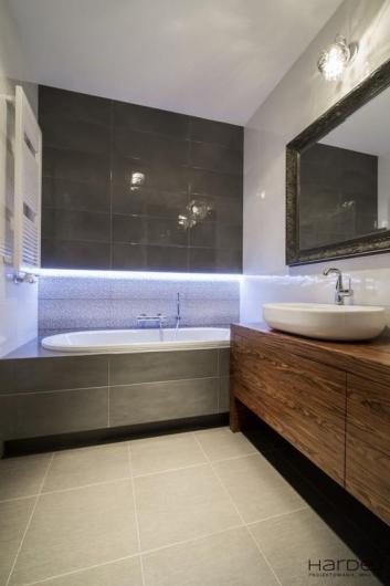 projekt wnętrza nowoczesna łazienka