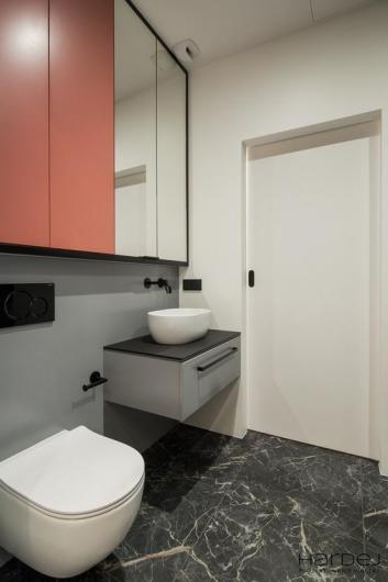 projekt wnętrza łazienka biała