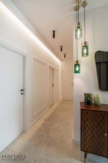 projekt wnętrza widok korytarz