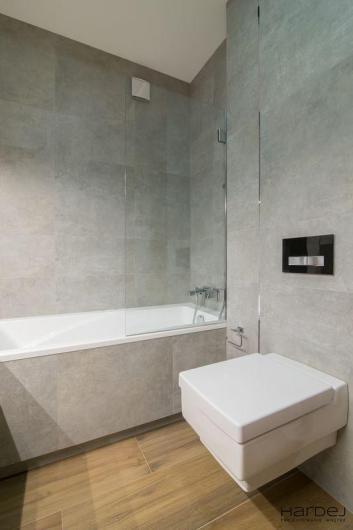 łazienka projekt betonowe płytki