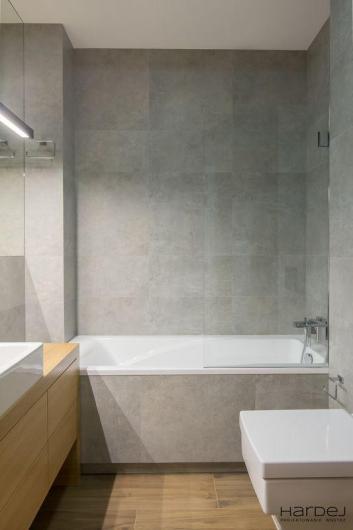 łazienka projekt kwadratowa miska wc
