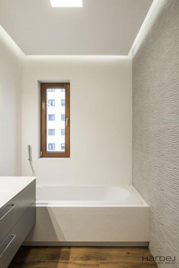 łazienka wanna ściana 3d