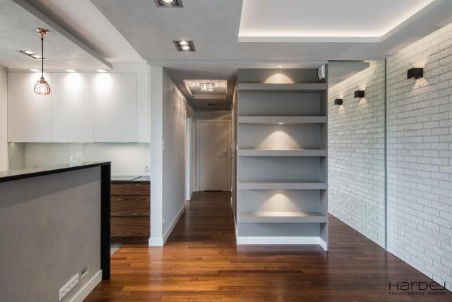 styl loftowy beton cegła