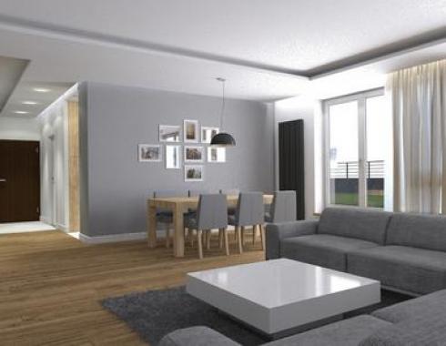 Mieszkanie styl nowoczesny