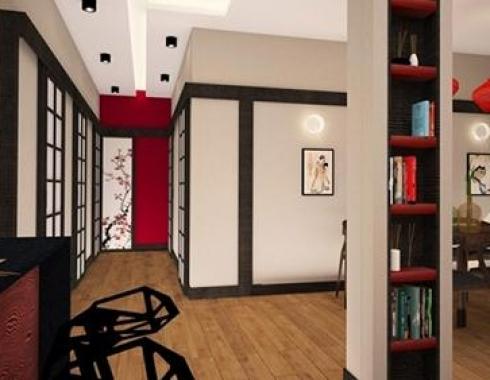 Mieszkanie w stylu orientalnym